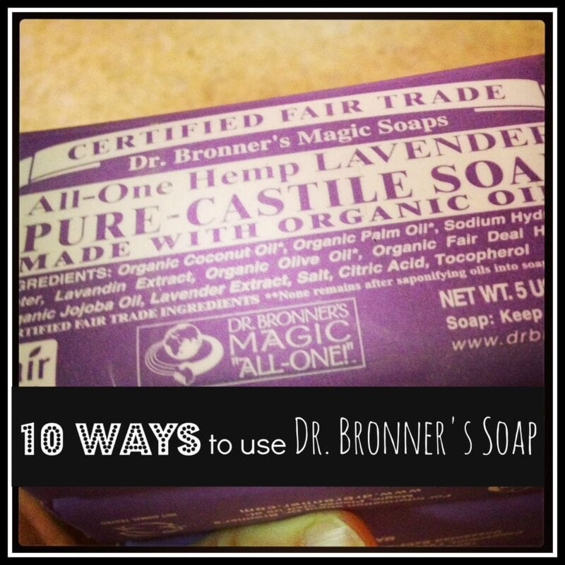 10 ways to use dr bronner s soap. Black Bedroom Furniture Sets. Home Design Ideas