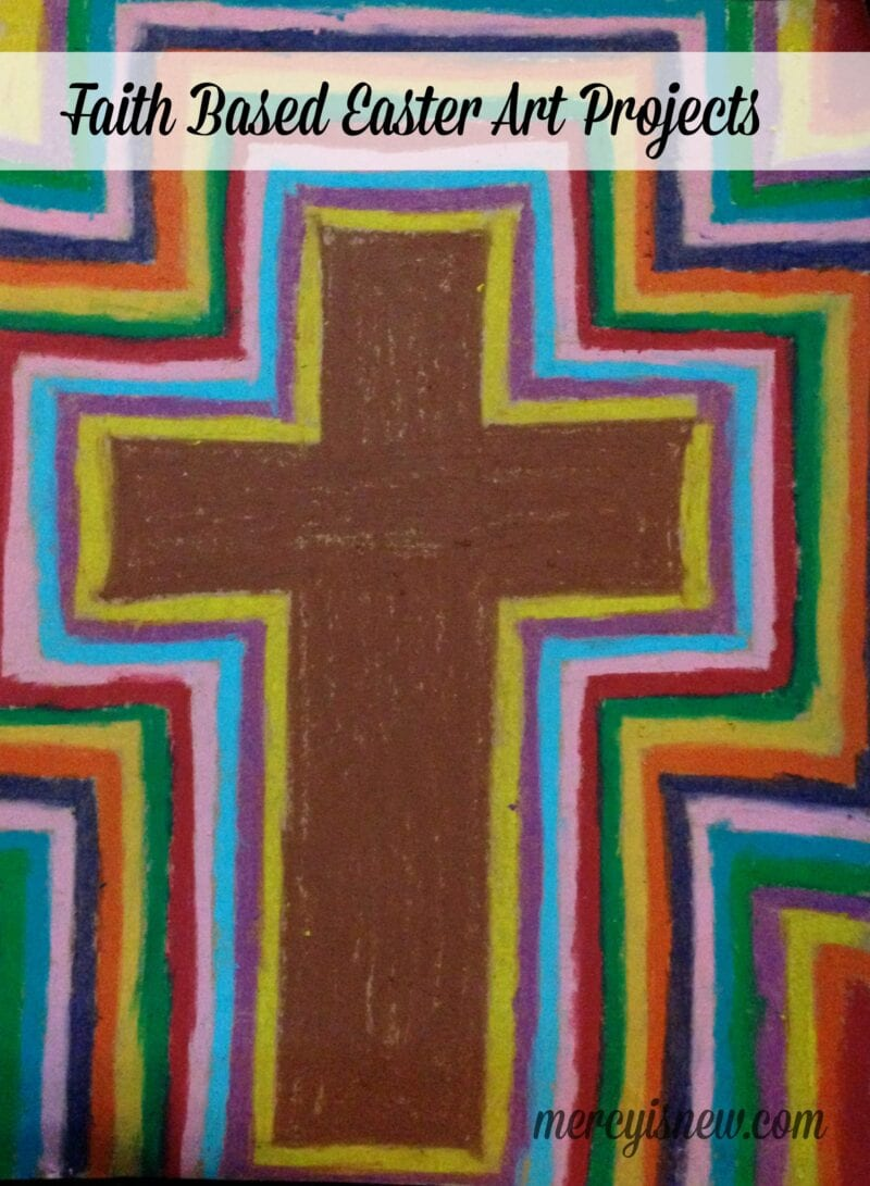 Faith Based Easter Art Projects @mercyisnew.com