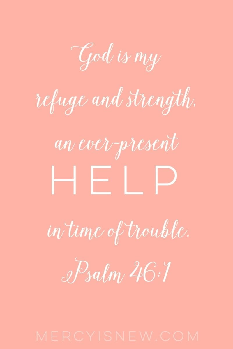 Verses for when you need God's help