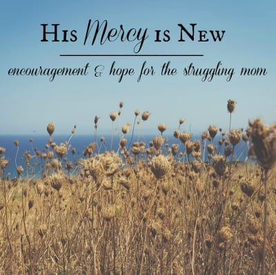 His Mercy is New blog