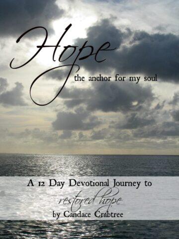 Hope The Anchor For My Soul @mercyisnew.com