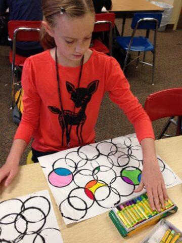 Teaching Art with the Help of Pinterest @mercyisnew.com