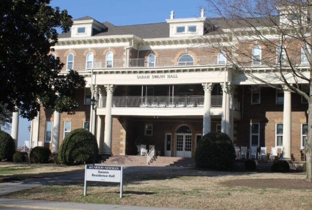 Swann Hall at Carson Newman Univeristy @mercyisnew.com