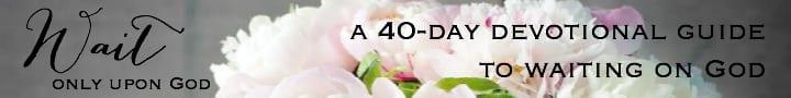 Waiting on God 40 Day Devotional