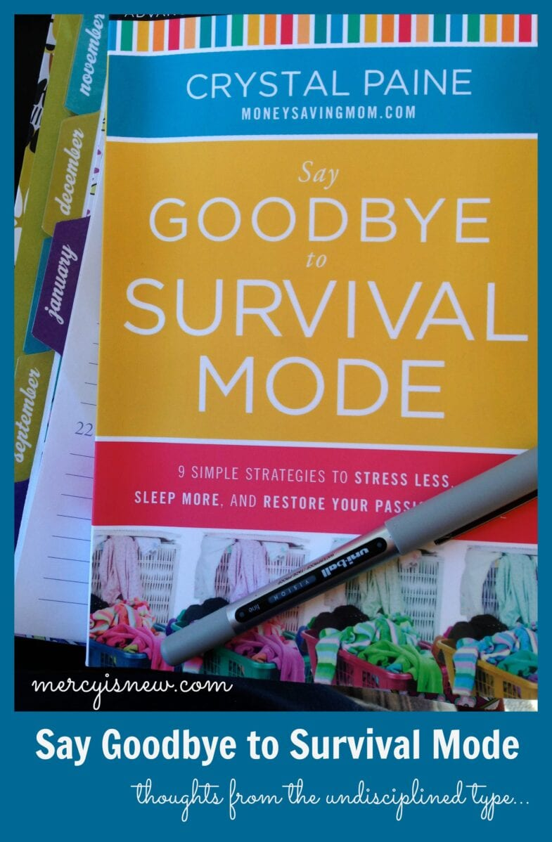 My Thoughts on Say Goodbye to Survival Mode @mercyisnew.com