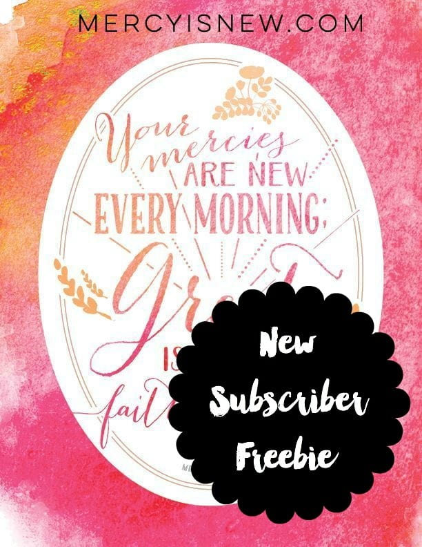 New Subscriber Freebie Graphic
