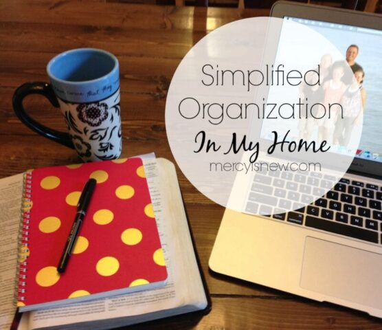 Simplified Organization In My Home