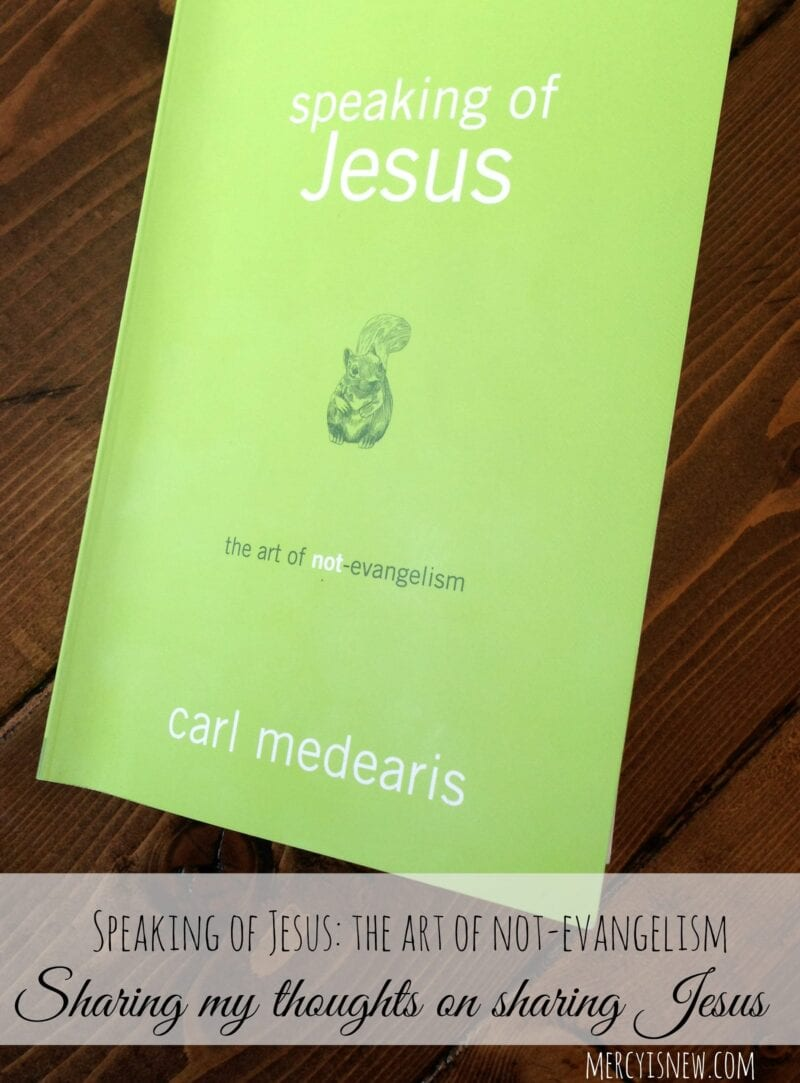 Speaking of Jesus {book recommendation} @mercyisnew.com