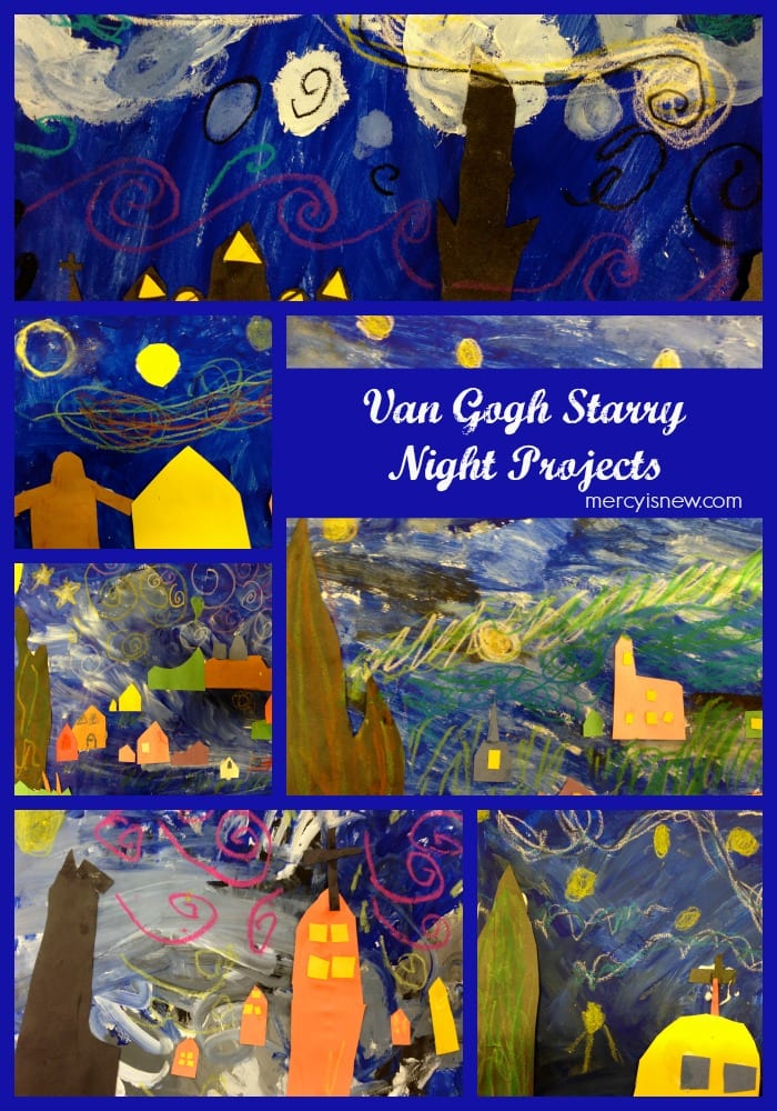 Starry Night Project Examples @mercyisnew.com