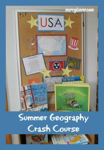 Summer Geography Crash Course @mercyisnew.com