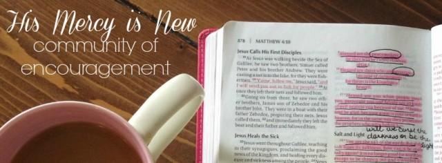 encouragement group header