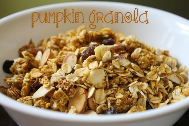pumpkin granola