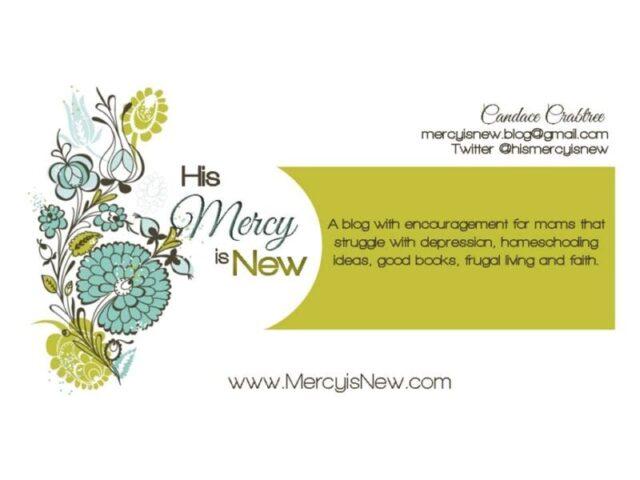 business card @mercyisnew.com