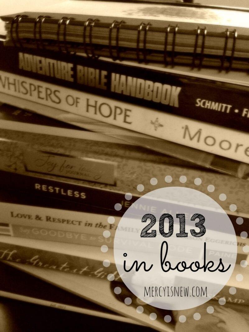 2013 in books @mercyisnew.com