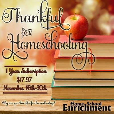 Thankful for Homeschooling @mercyisnew.com