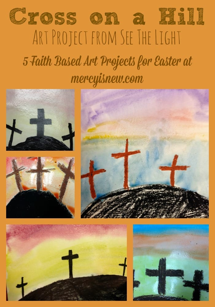 5 Faith Based Art Projects for Easter @mercyisnew.com