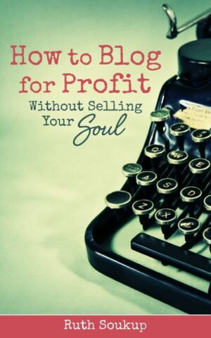 How to Blog for Profit {book review at mercyisnew.com}