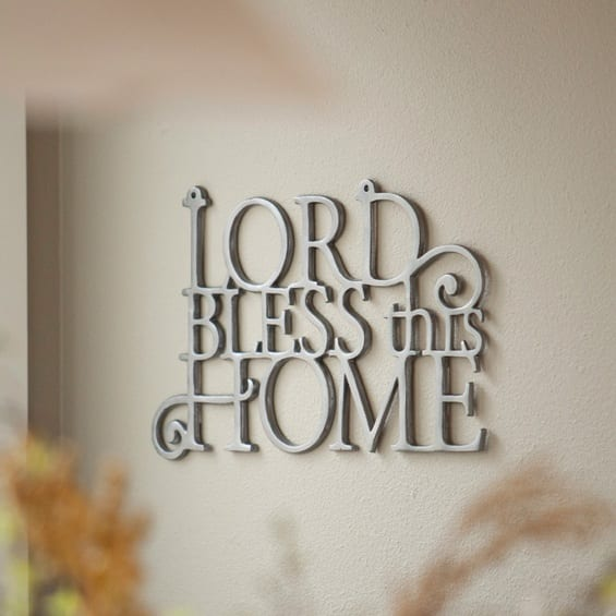 Preferred God Bless Our Home Wall Decor. god bless our home wall art sticker  JL03
