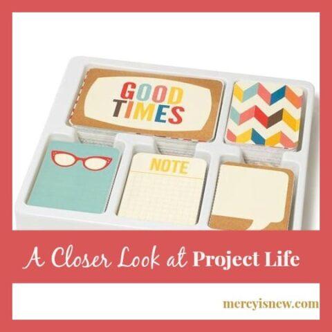 A Closer Look at Project Life @mercyisnew.com