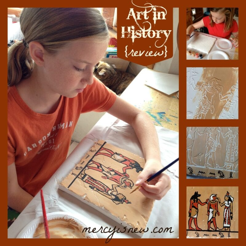 Art in History {review} @mercyisnew.com