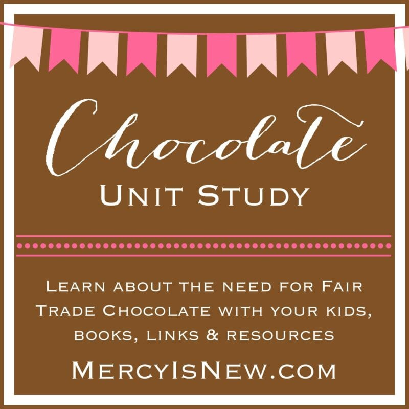 Free Chocolate Unit Study  MercyIsNew.com