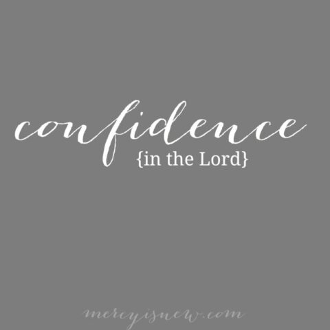 Confidence in the Lord 2