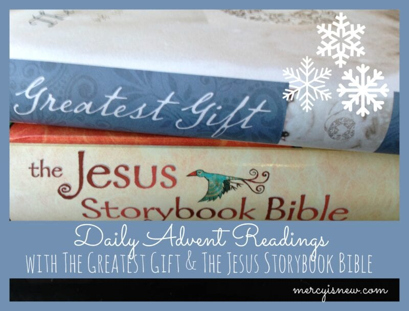Daily Advent Readings @mercyisnew.com