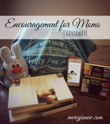 Encouragement for Moms Giveaway From His Mercy is New