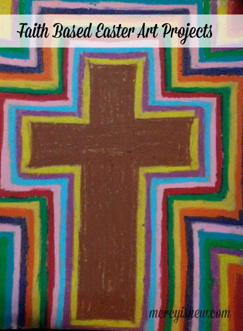 Faith Based Easter Art Projects @mercyisnew.com