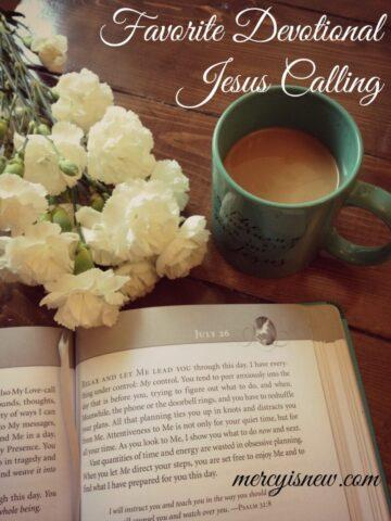 Favorite Devotional Jesus Calling