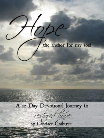 Hope The Anchor For My Soul @mercyisnew.com