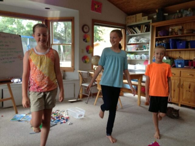 Using Brain Breaks in Homeschool