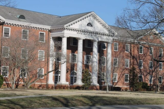 Butler Hall at Carson Newman University @mercyisnew.com