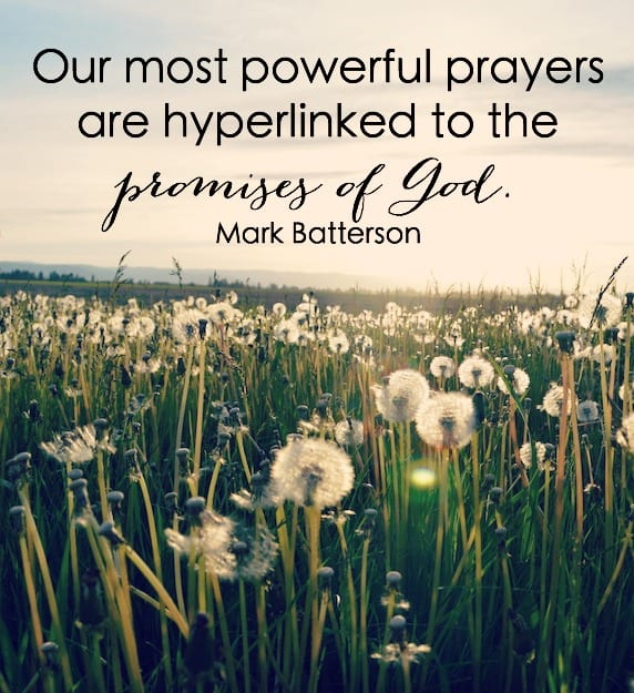 Our most powerful prayers