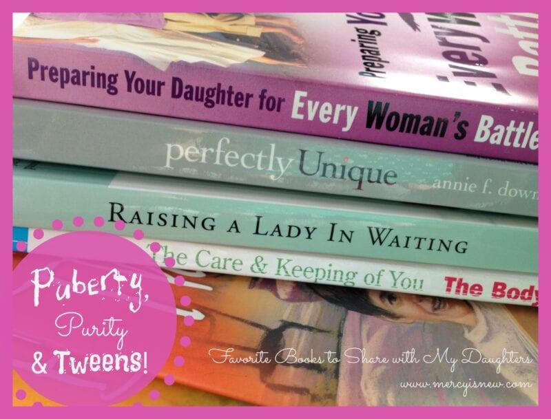 Puberty, Purity, & Tweens @mercyisnew.com