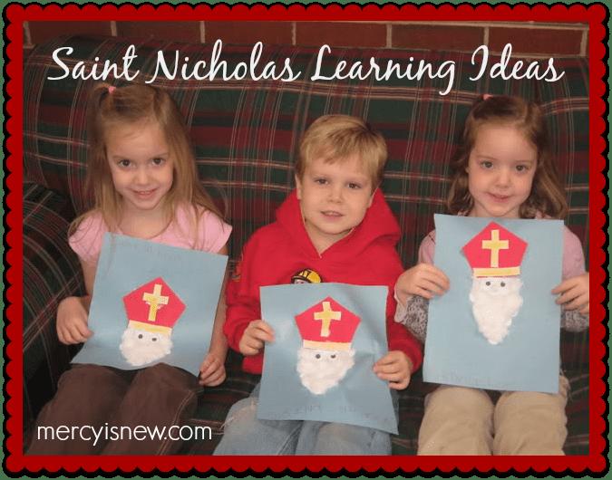 Saint Nicholas Learning Ideas @mercyisnew.com