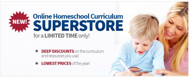 online homeschool curriculum superstore