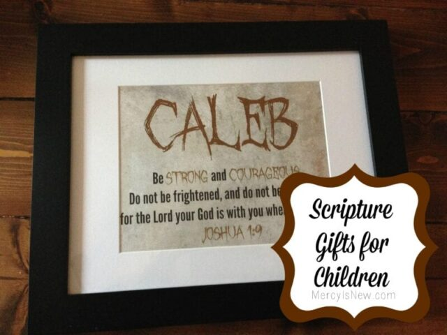 Scripture Gifts for Children