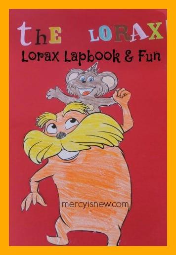 The Lorax Lapbook & Fun