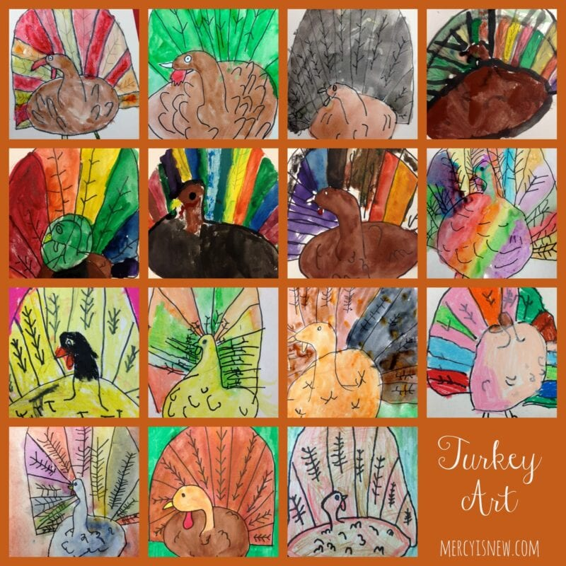 Turkey Art @mercyisnew.com