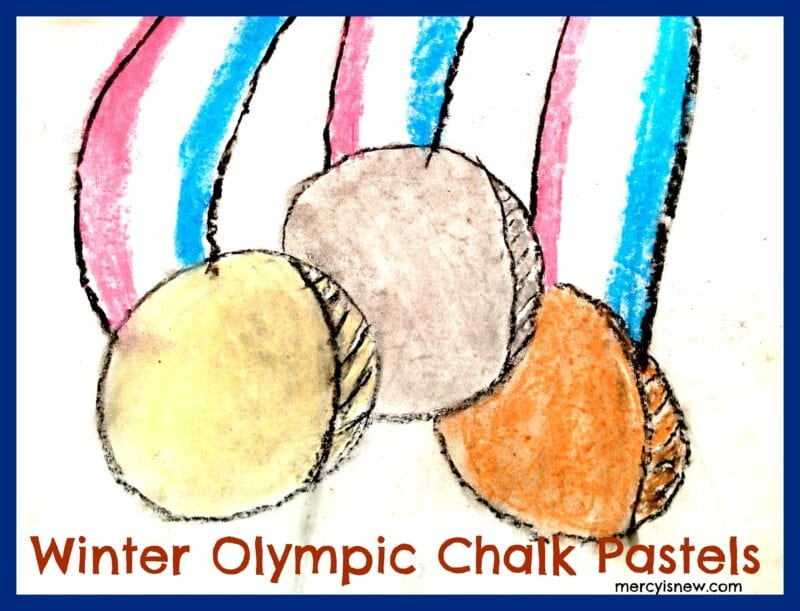 Winter Olympic Chalk Pastel @mercyisnew.com