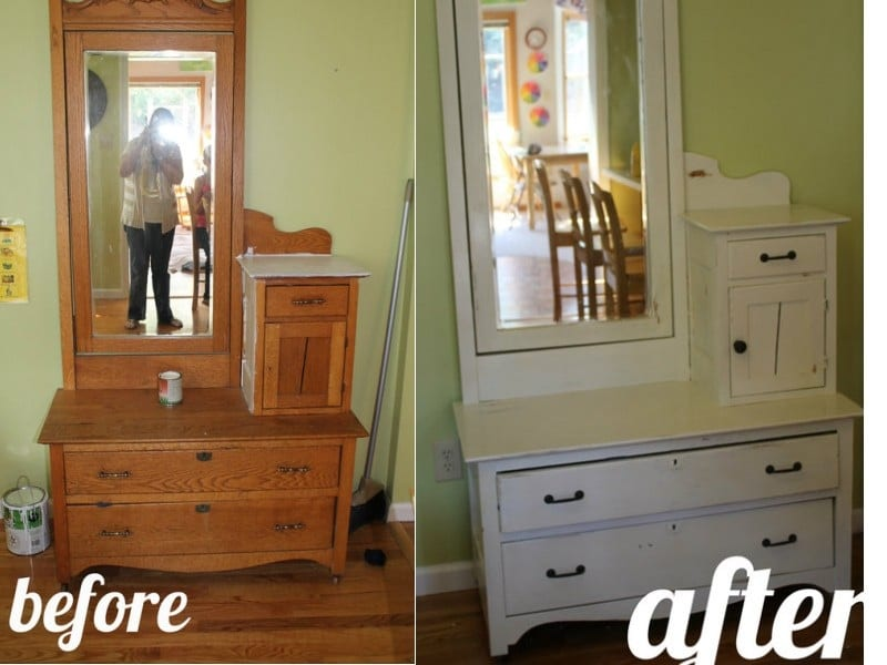Dresser Before After