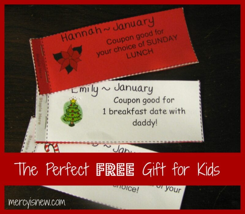 perfect free gift for kids @mercyisnew.com