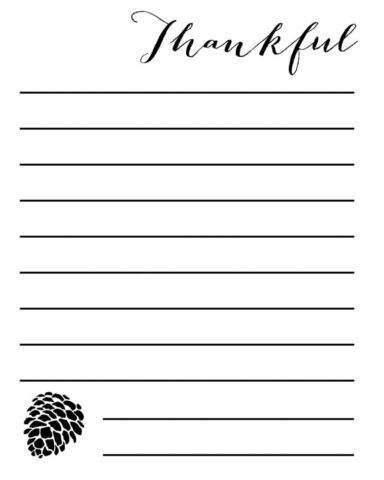 journal pages template
