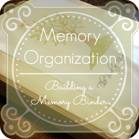 Building a Memory Work Binder @mercyisnew.com